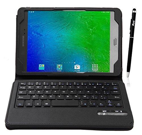 KuGi Bluetooth Keyboard Stand Portfolio Case Samsung Galaxy Tab S2 8.0