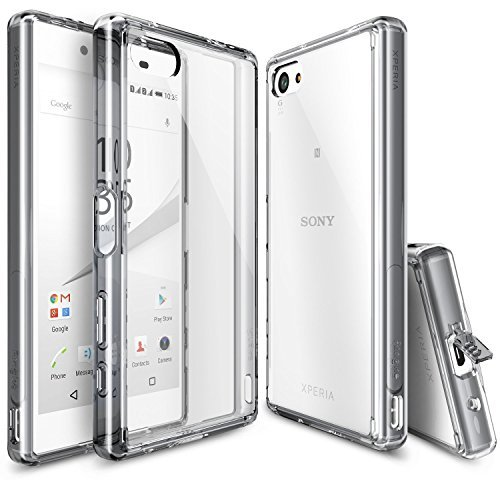 Ringke Fusion Crystal Clear Bumper For Sony Xperia Z5 Compact