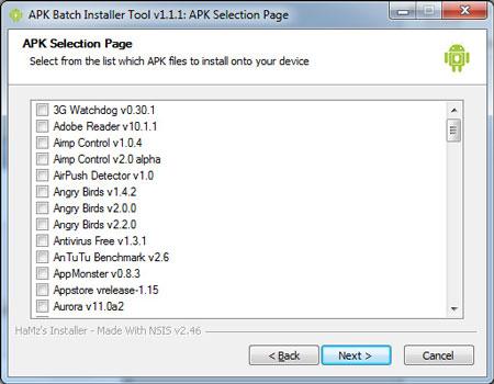 APK Batch Installer: Install, backup, restore, rename