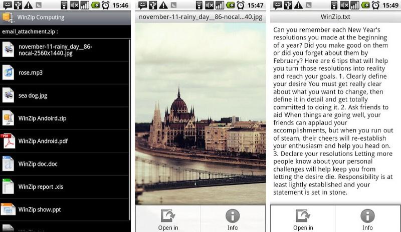 App Zip Android