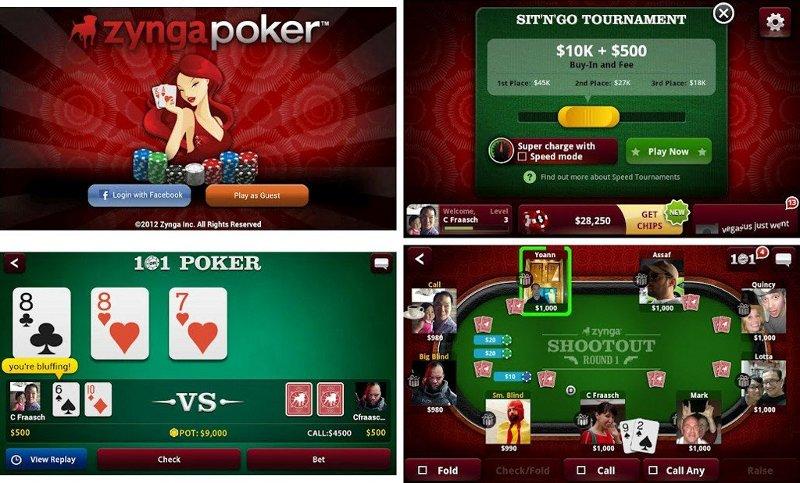 zynga poker game online