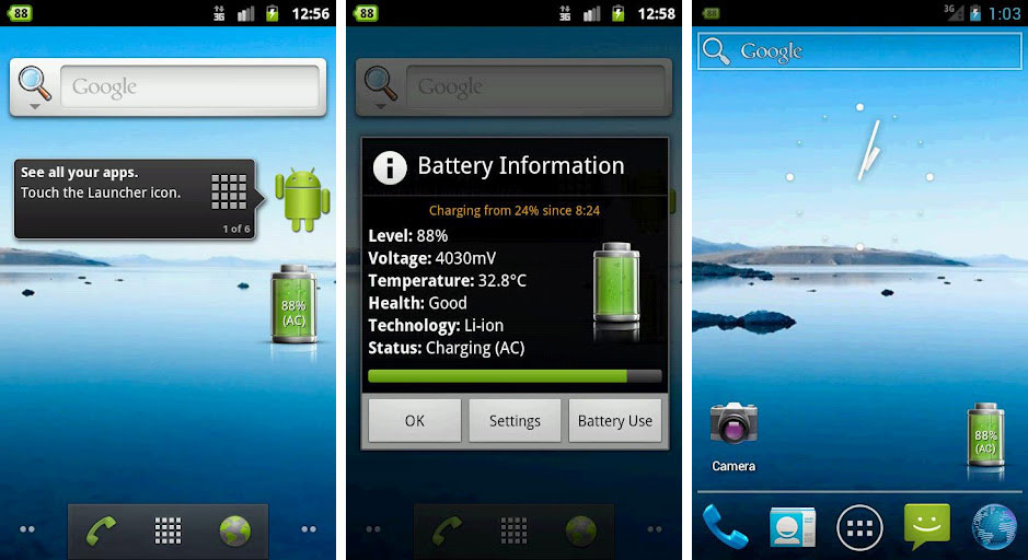 best battery widget android tablet
