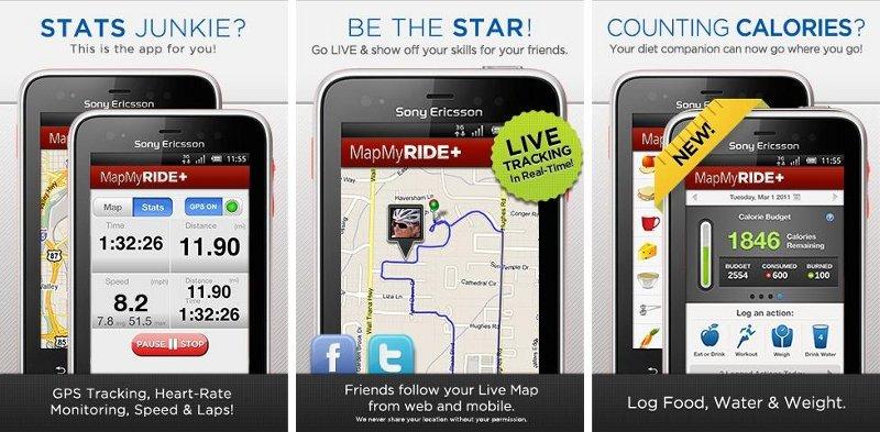 Mapmyride Gps Cycling Riding