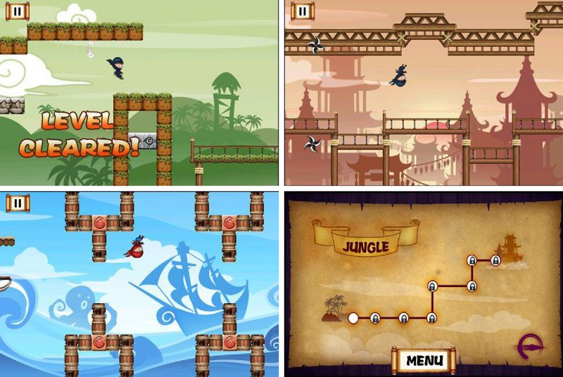 best free running games for android