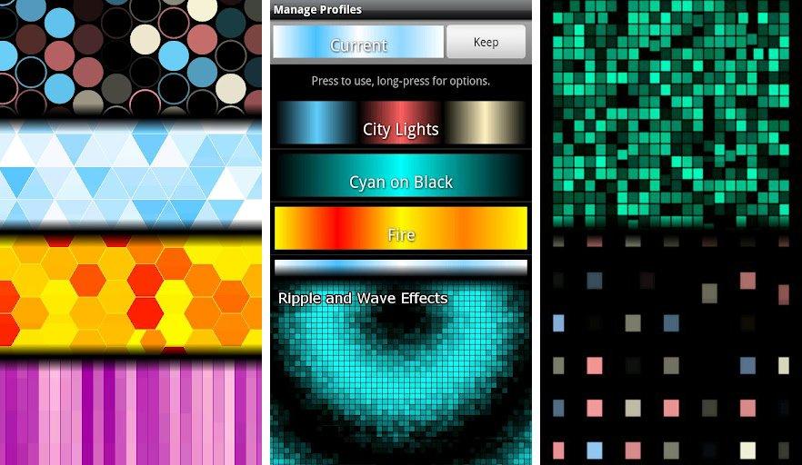 Light Grid Pro Live Wallpaper