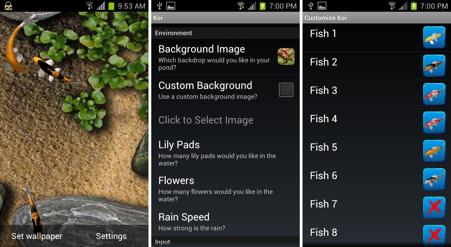 Best Aquarium And Fish Live Wallpapers For Android Android