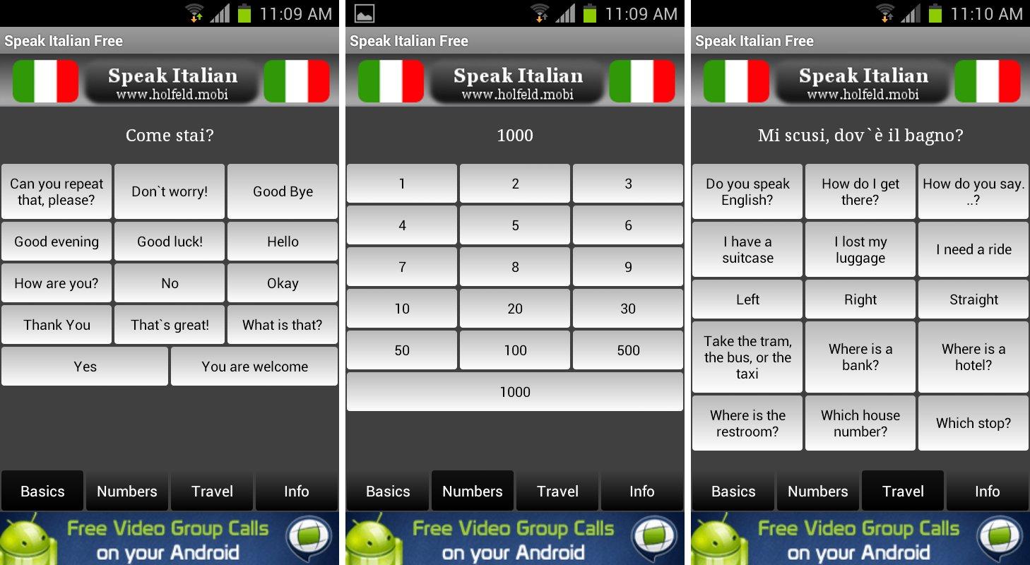 Learn Italian Free - Apps on Google Play