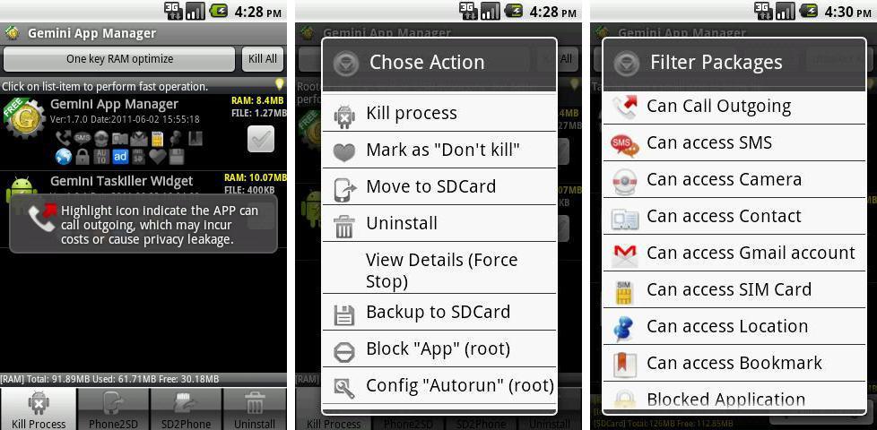 Gemini App Manager Андроид - фото 9