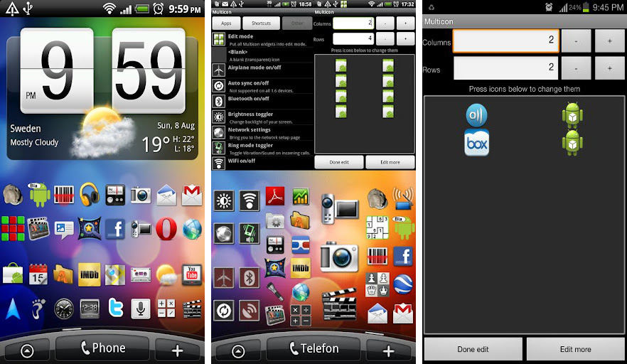 Best widgets for the Samsung Galaxy Note