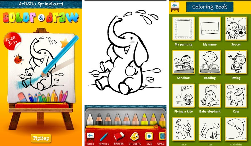 color draw for kids phone ed