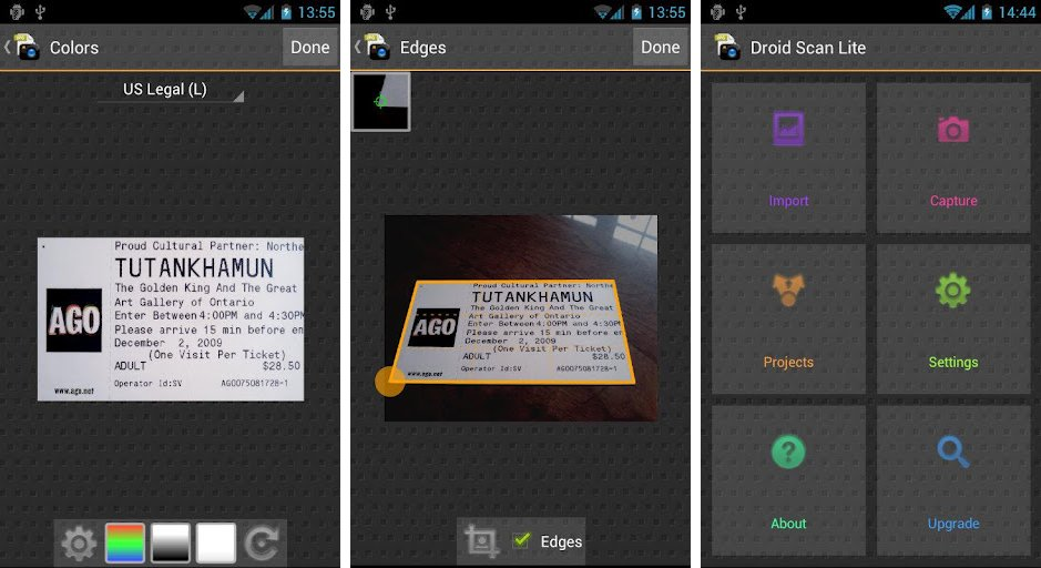 another handy tool for reading business cards is droid scan lite this app works more like a scanner than a reader just take a picture of that business - Best Business Card Scanner