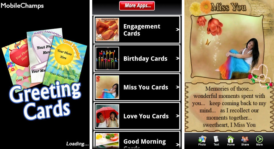 Make Your Birthdays Holidays And Any Other Occasions Memorable With Greeting Cards An App That Gives A Wonderful Touch To Occasion
