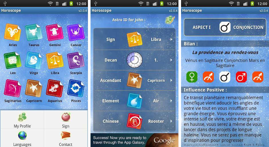 Top 10 Best and Free Astrology Apps for Android phone users: