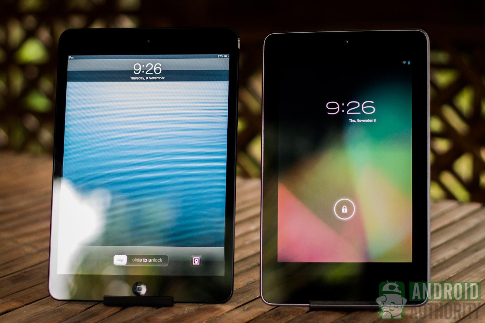 Nexus 7 vs ipad air