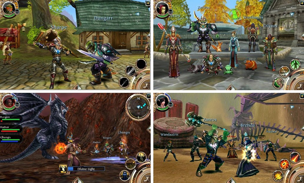 android online role playing game