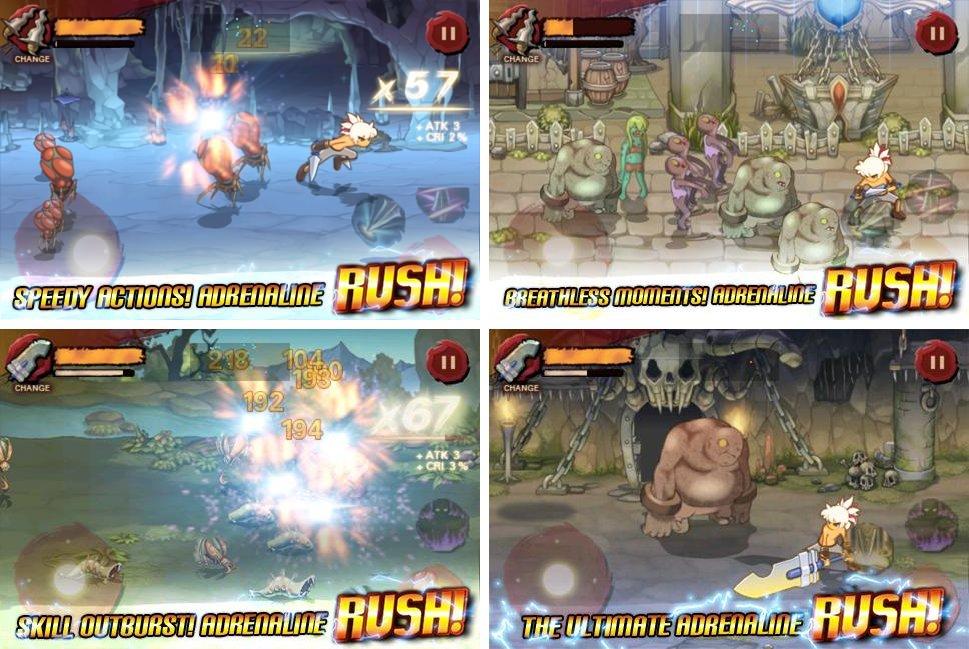 Игры на андроид про аниме игра