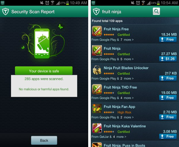 Antivirus Mobile Security Protection From Threats And Theft